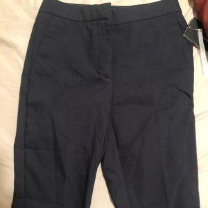 Zara navy ankle pants